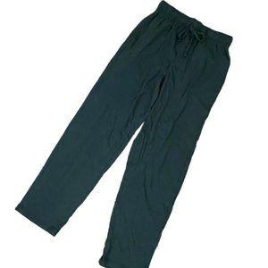 FRUIT of the LOOM Men's black polyester sleep PANT